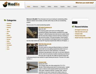 woodbin.com screenshot