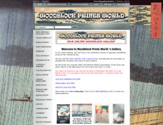 woodblockprintsworld.com screenshot