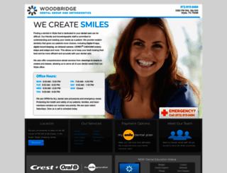 woodbridgedentalgroup.smilegeneration.com screenshot