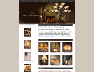 woodbridgelighting.com screenshot