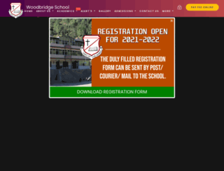 woodbridgeschool.co.in screenshot