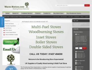 woodburning-stove-supermarket.co.uk screenshot