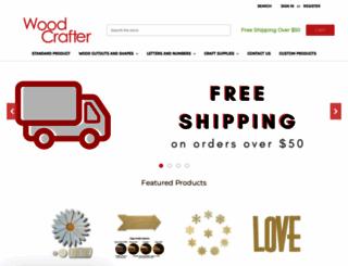 woodcrafter.com screenshot