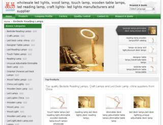 wooden-lamps.com screenshot