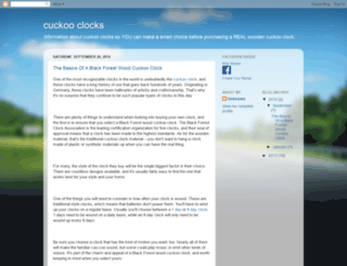 woodencuckoo.blogspot.com screenshot