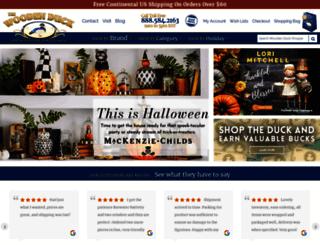 woodenduckshoppe.com screenshot