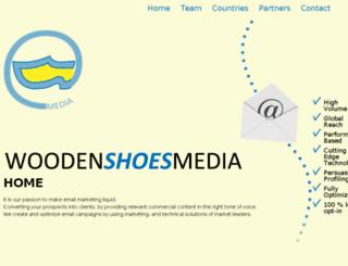 woodenshoesmedia.com screenshot