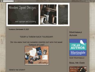 woodenspooldesigns.blogspot.com screenshot