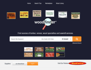 woodfinder.com screenshot