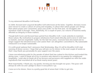 woodfiregrill.com screenshot