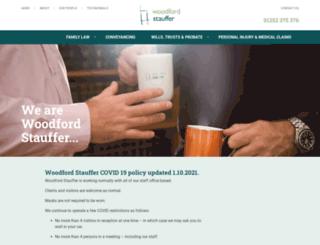 woodfordstauffer.co.uk screenshot