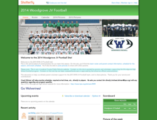 woodgrovefreshmanfootball2013.shutterfly.com screenshot