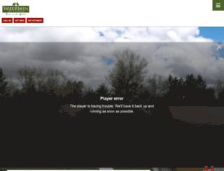 woodhavenlog.com screenshot