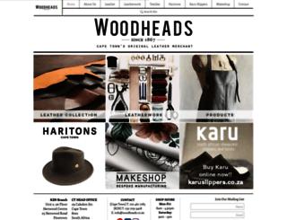 woodheads.co.za screenshot