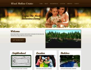 woodhollow.devapps.us screenshot