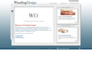 woodingdesign.com screenshot