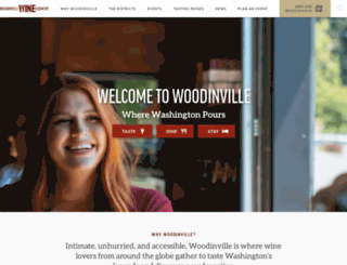woodinvillewinecountry.com screenshot
