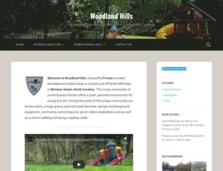 woodlandhills.ws screenshot