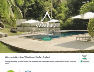 woodlawnvillas.com screenshot