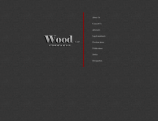 woodllp.com screenshot