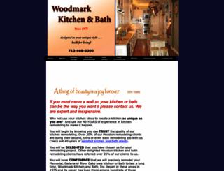 woodmarkkitchens.com screenshot