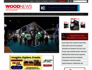 woodnews.in screenshot
