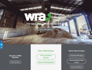 woodrecyclers.org screenshot