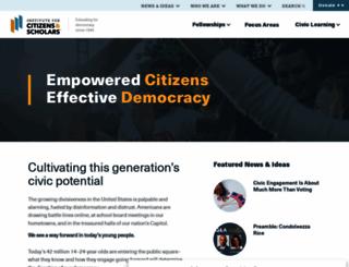 woodrow.org screenshot