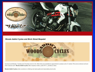 woodsaddict.com screenshot