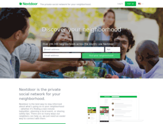 woodsborough.nextdoor.com screenshot