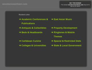 woodscrosscitizen.com screenshot