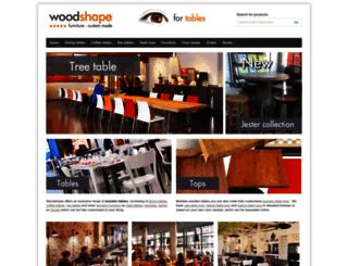 woodshapefurniture.com screenshot