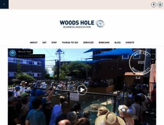 woodshole.com screenshot