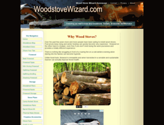 woodstovewizard.com screenshot