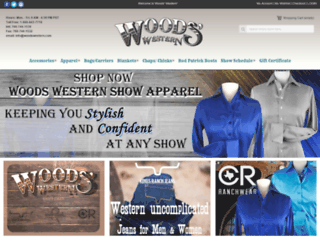 woodswestern.com screenshot