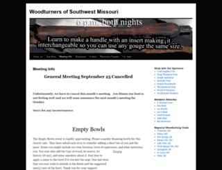 woodturnersofswmo.org screenshot