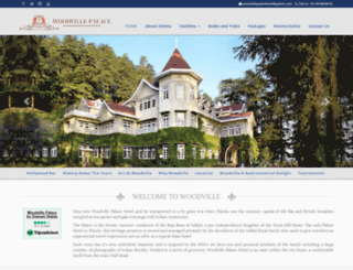 woodvillepalacehotel.com screenshot