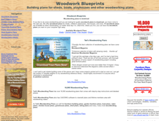 woodworkblueprints.com screenshot