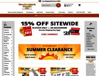 woodworker.com screenshot