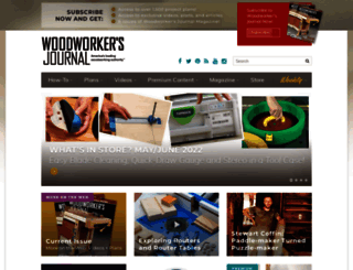 woodworkersjournal.com screenshot