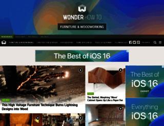 woodworking.wonderhowto.com screenshot