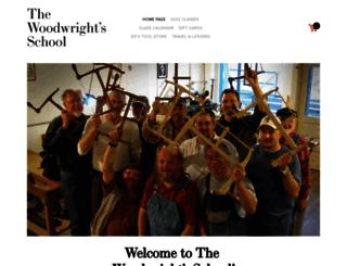 woodwrightschool.com screenshot
