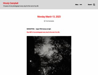 woodycampbell.com screenshot