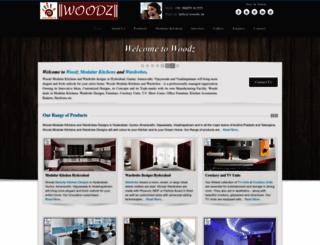 woodz.in screenshot