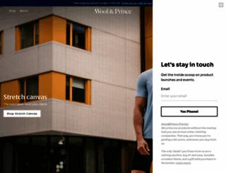 woolandprince.com screenshot