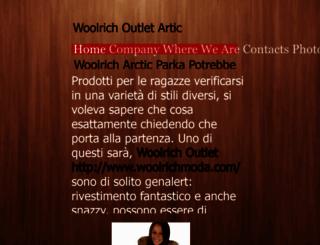woolrichoutlet.flazio.com screenshot