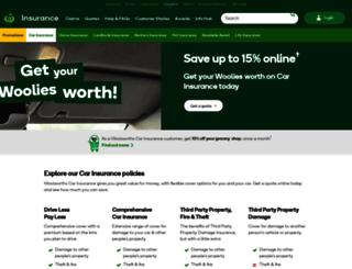 woolworthscarinsurance.com.au screenshot