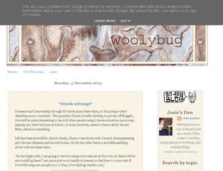 woolybug.blogspot.fr screenshot