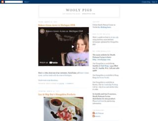 woolypigs.blogspot.com screenshot