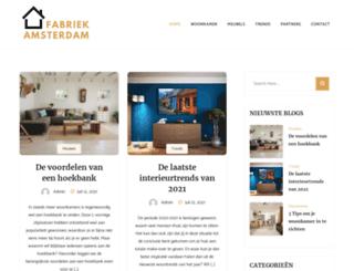 woonfabriekamsterdam.nl screenshot